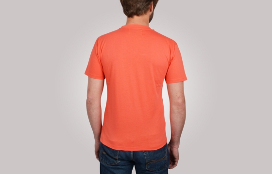 T-shirt homme Pocket Tee corail v1 - Tee shirt manches courtes - Ozoa Chemises