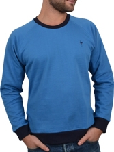 Sweat Notellom Tee bleu et marine