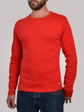T-shirt homme Stitchy Tee rouge - Tee shirt manches longues