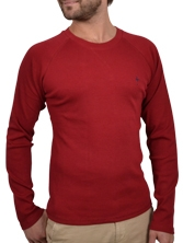 Tee shirt manches longues Casual Tee rouge